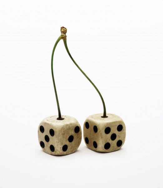 Nancy Fouts, Double Dice on Cherry Stem