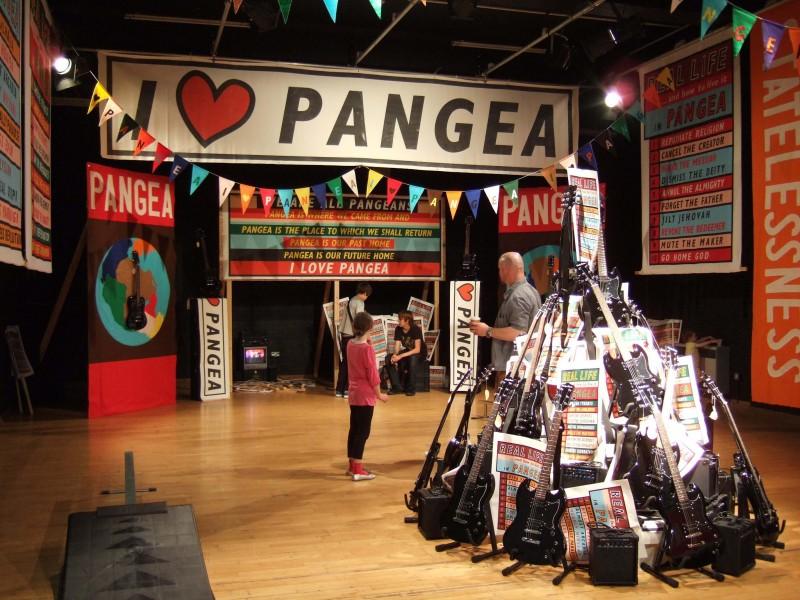 Real Life and How to Live it in Pangea (free Electric Guitars for under 18's v Skate-able version)
