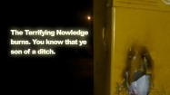 Feral-Nowledge, 2012, video, duration 6 minutes, edition of 3. Image courtesy the artist. © the artist