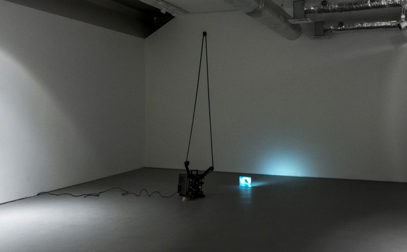 Bore Song, 2011. Installation view at the Contemporary Art Society (13 February - 1 March 2013). Acquired by the Contemporary Art Society for Cheltenham Art Gallery & Museum.