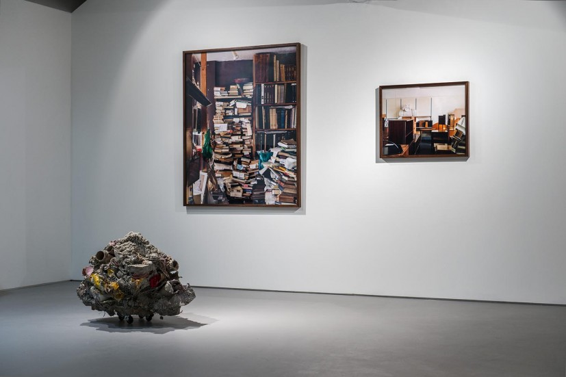 DISPLAYS - Phyllida Barlow (20 March - 16 April 2013)